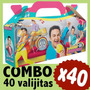 Topa Junior Express Cajita Valijita Souvenir Combo X 40