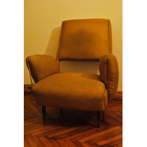 Sillon Antiguo Estructura Impecable A Retapizar