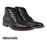 6136f8a2 Bota Borcego Zapato Cuero Hombre Stone 1567 E Gratis Premiun