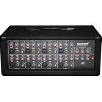 Cabezal Consola Potenc Lexsen A8+bafles Acustica St-215 2x15