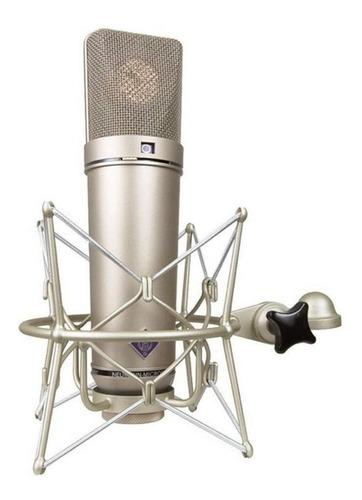 Micrófono Neumann U 87 Ai Condensador Cardioide Y Omnidireccional Dorado