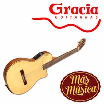 Gracia Gold Guitarra Electro Acustica 4 Bandas C/ Afinador