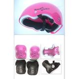 Proteccion Casco Smart  Infantil Rodillera Codera  Rollers