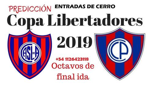 San Lorenzo Vs Cerro Copa Libertadores Banderas