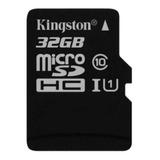 Tarjeta De Memoria Kingston Sdc10 Con Adaptador Sd 32gb