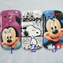 Funda Carcasa Tpu Soft Goma S3 Mini Mickey Y Minnie Disney