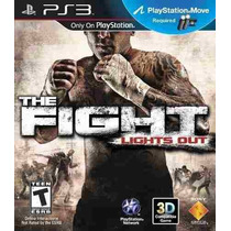Juego Ps3 - The Fight Lights Out - Move - Nuevo - Sellado