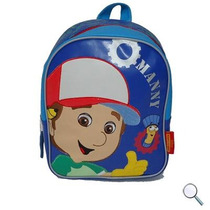 Mochila De Jake, Manny, Backyardigans Original Disney