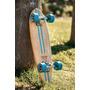 Skate Hecho A Mano, Mini Cruiser, Mini Longboard, Old School