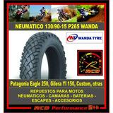 Cubierta Neumatico Moto Custom 130/90-15 P265 Wanda