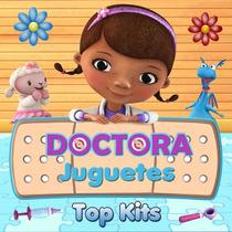 Kit Imprimible Doctora Juguetes Tarjetas Golosinas Candy Bar