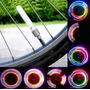 Luz Led Neon Para Válvula - Bicicleta Auto Moto Potente Unid