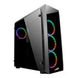 Gabinete Gamer Sentey Z20 4 Cooler Rgb Full Vidrio Templado