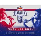 1 Entrada Red Bull Batalla De Los Gallos Nacional Argentina