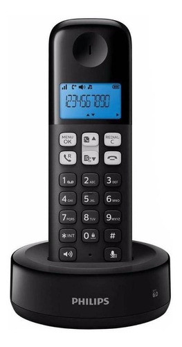 Teléfono Inalámbrico Philips D1311b Negro