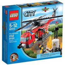 Lego City - Fire Helicopter (60010)