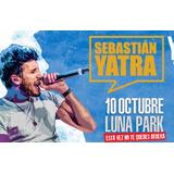 Entradas Sebastian Yatra - Luna Park Primeras Filas - 11-10
