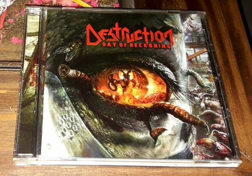 Destruction - Day Of Reckoning Cd Impecable Trash Metal
