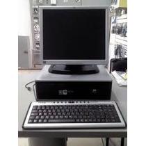 Computadora Completa Dell /hp Con Monitor Lcd De 17