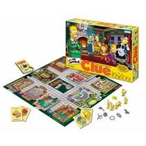Clue Quién Es El Culpable?simpsons Original Hasbro.magimundo
