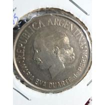 Moneda Argentina 2 Pesos 2002 Evita