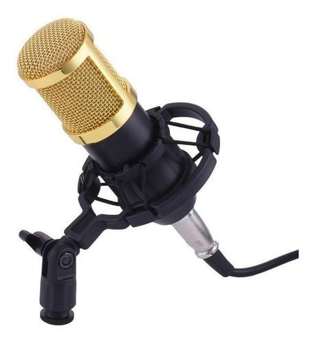 Micrófono Daza Dzsm350 Cardioide