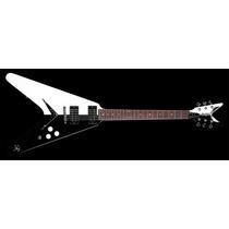 Guitarra Electrica Dean Michael Schenker Flying V Flashtigre