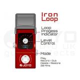 Pedal Looper Joyo Ironman Jf329 Iron Loop Station C/deshacer