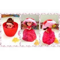 Muñecas Princesas Perfumadas Cupcake Surprise Sorpresa Shine