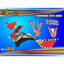 Kit Calcos Xtz 250 Deportivas Laminado Anti Rayas
