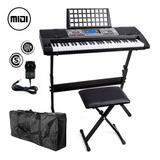 Teclado Musical Organo Piano T06 61 Teclas Display Kit