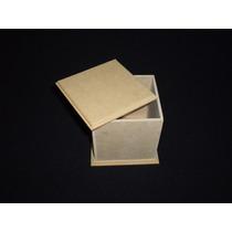 Caja Fibrofacil 8x8x8cm (6 Unidades) Maderarte