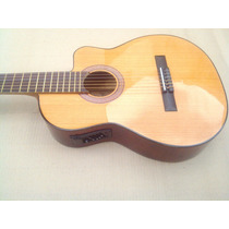 Guitarra Electroacustica Criolla 1/2caja Eq C/ Afinador
