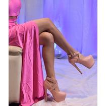 Zapato Mujer Fiesta Rosa Egresadas