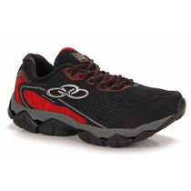 Zapatillas Olympikus Modelo Running Blow Color Negro/rojo