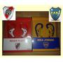 Auriculares Deportivos Orejera Futbol-river-boca-play-pc