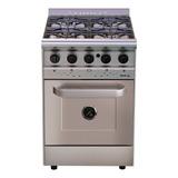Cocina Morelli Country Forza 550 4 Hornallas  A Gas/eléctrica Acero Inoxidable 220v Puerta Ciega