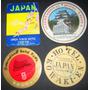 Lote Antiguas Etiquetas Equipaje Hoteles De Japon