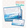 Tarjeta De Quince - Invitación De 15 Para Imprimir