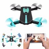 Mini Drone Cuadricoptero Plegable Wifi Hd Fpv+ S162 Jy018
