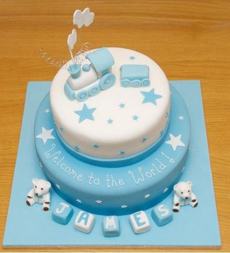 Imagenes de tortas para baby shower de varon - Imagui