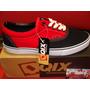 Zapatilla Qix Mod:san Francisco Negro Rojo Skate*zona Munro*