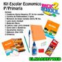 Kit / Set / Combo Escolar Primaria Economico 10 Piezas