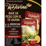 Té Divina Desintoxicante 100% Original 2 Unidades A 1,120
