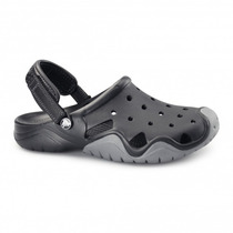 Zueco Crocs Swiftwater Clog Negro Solo Talle M13 (45/46 Arg)
