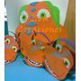 Piñatas Infantiles Dinostodos Los Personajes En Goma Eva