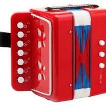 Mini Acordeon A Piano 7 Teclas 3 Bajos