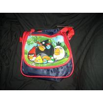 Lunchera Tèrmica Angry Birds Con Cierre,manija Cortay Larga