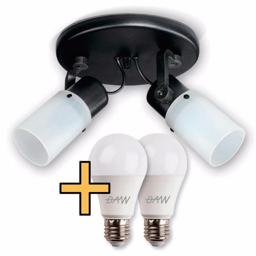 lampara spot iluminacin interior en colores focos w