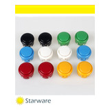 Boton Pulsador Arcade 30mm Push Varios Colores
